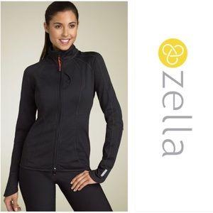 ZELLA Charcoal Gray 'Sculpt' Active Jacket Size M